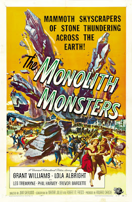 The Monolith Monsters (1957, USA) movie poster
