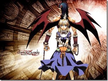 Rosette e Chrno Demônio
