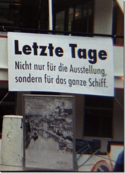 Die letzten Tage der Stadt Bern in der Stadt Thun