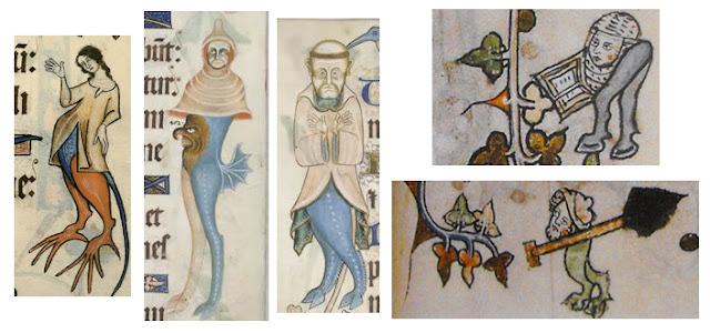Sigue la imagen según la palabra - Página 3 7droleries-siglo-XIV-2