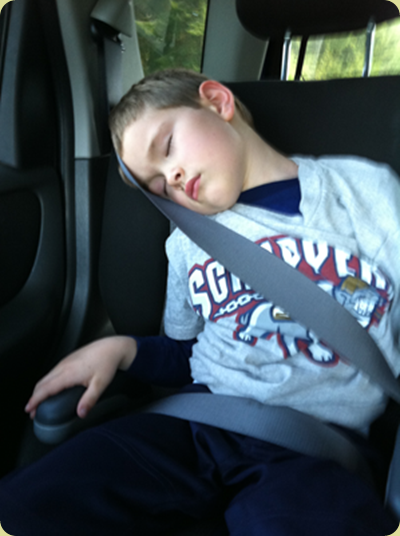 sleepy ballplayer