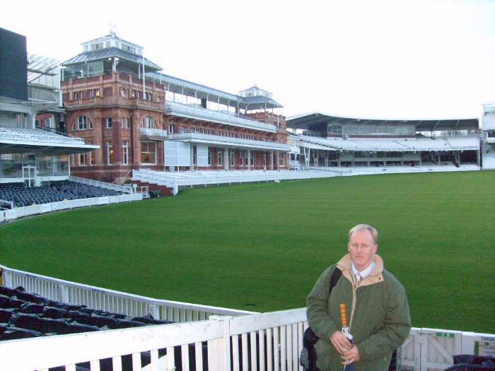 Dave Brown at Lords