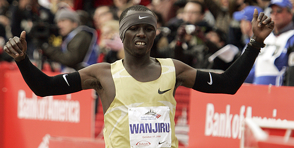 chicago-marathon-2010-winner-sammy-wanjiru-youtube-video