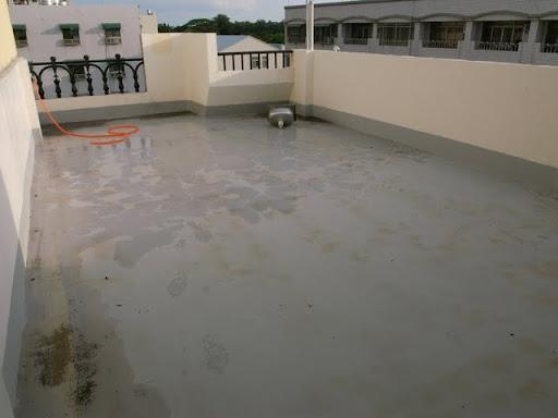 【空中花園】地板防水施做