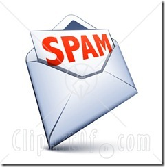 30654-Clipart-Illustration-Of-A-White-Envelope-With-Spam-Email-Inside