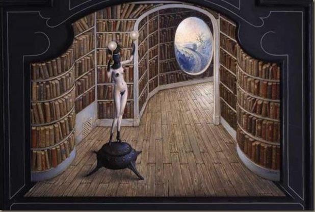 Claude Verlinde - La biblioteca