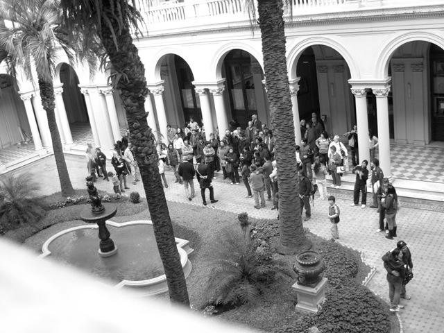 Casa Rosada Bs. As. Patio de las palmeras 2