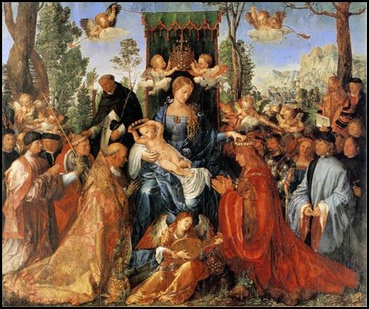 Durero Fiesta de la guirnalda de rosas 1506