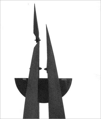 Bastón Díaz - Paseo de las esculturas - Plaza Rubén Darío (2)