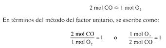 Equivalencias / Metodo del Factor Unitario