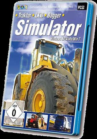 traktor bagger lkw simulator multi6 2010 pc. Black Bedroom Furniture Sets. Home Design Ideas