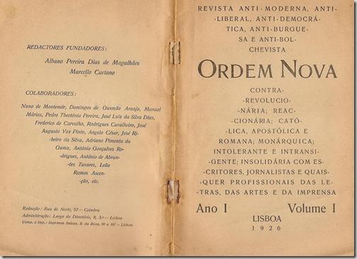 Revista Ordem Nova 1926