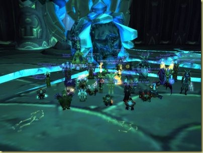 The pinnacle of my raiding career:  the Reliquary of Souls in the Black Temple, with Tempest during the reign of TBC.  This is the fight that showed what kind of rogue you were.  Ah, the power of nostalgia...