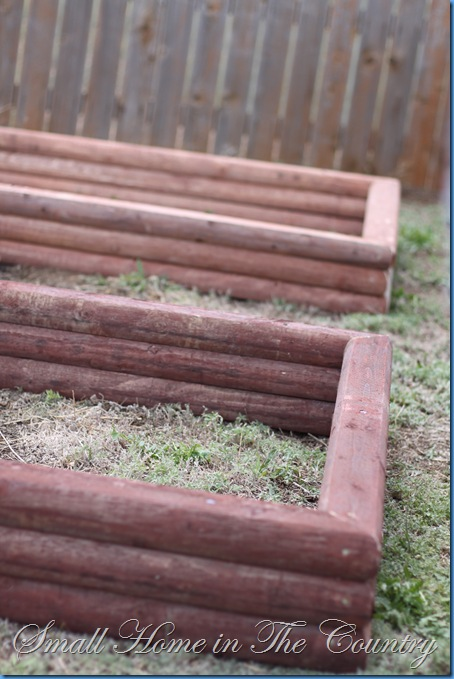 Small home in the country building raised garden beds on - Cheap raised garden beds for sale ...