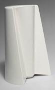 White Pago Pago vase