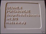 White Portariviste label