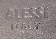 Alessi imprint