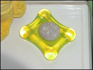 Yellow Titan soap dish