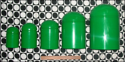 Domed container set