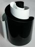 Deda vase black/white