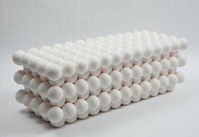 Air Spheres bench