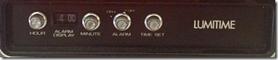Lumitime C-11 knobs