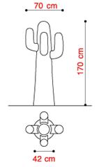 Schematic of Gufram Cactus