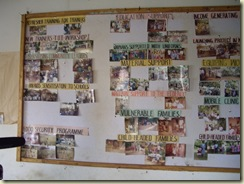 CFE project photo board