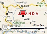 Location of Gulu