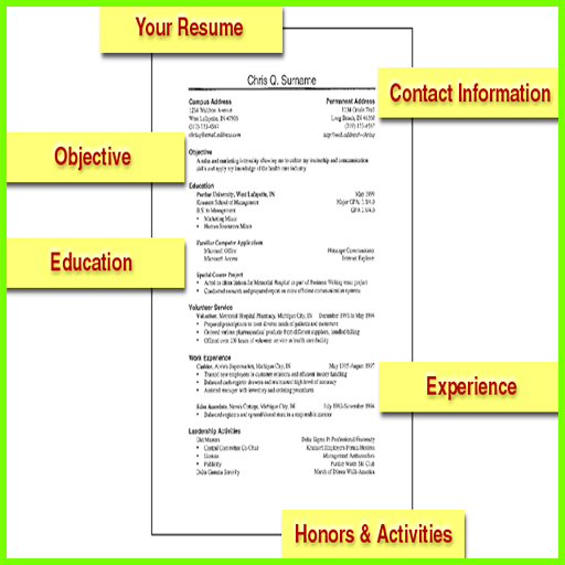 Making A Resume