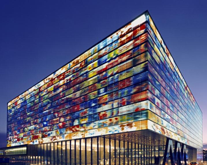 Instituut Beeld en Geluid, Hilversum, Neutelings Riedijk architecten
