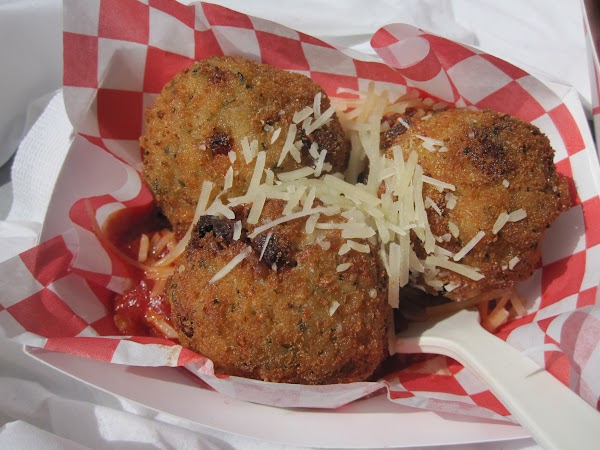 Arancini a.k.a. Italian &quot;rice balls&quot;