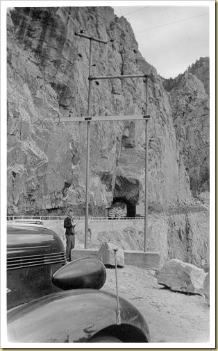 1939 - 6-21 - Trip West (11) Shoshone Dam Tunnel, Wyoming