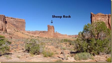2010-09-11 - UT, Arches National Park - Park Avenue Hike -1076 - Sheep Rock