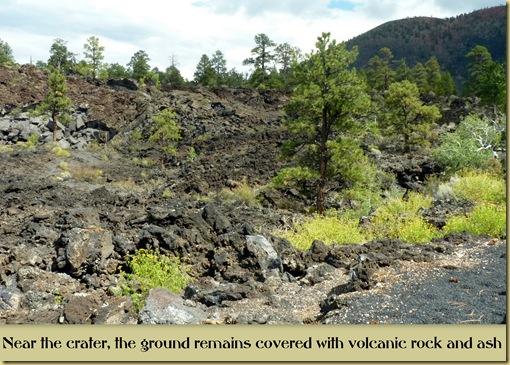 Sunset Crater area