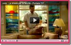 """Julia - La strada per la felicità"": puntata n°237"