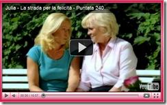 """Julia - La strada per la felicità"": puntata n°240"