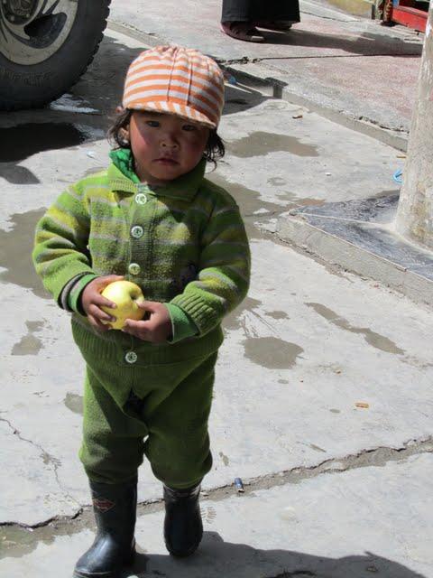 Tibet kids