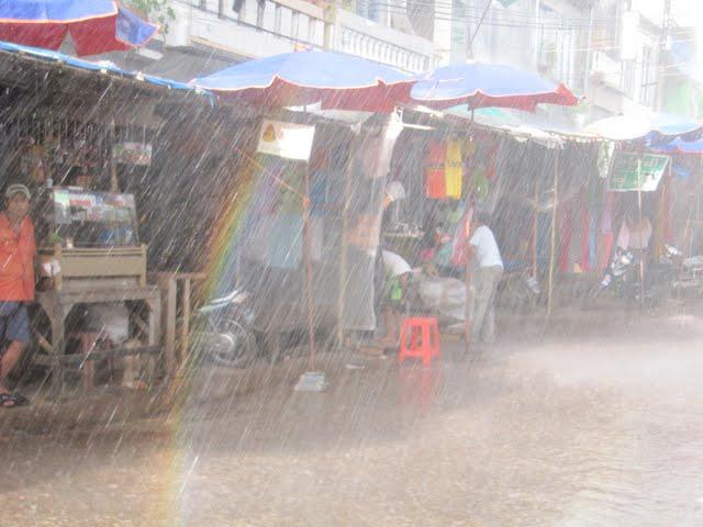 Myanmar rain