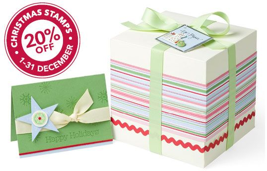 Stampin' Up! Tying Up Christmas Promotion