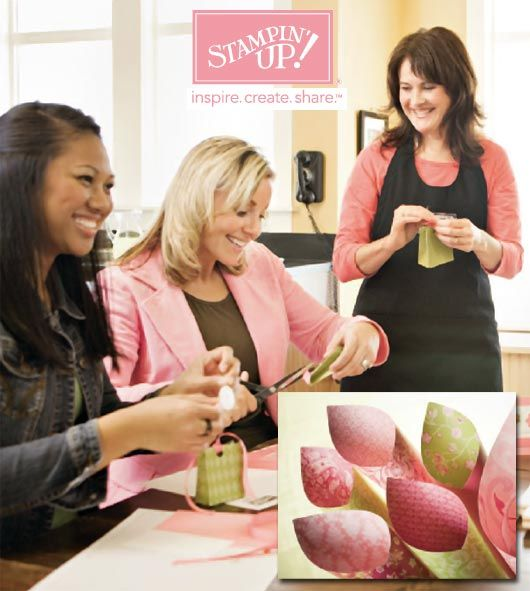 Stampin' Up! Breast Cancer Awareness Recruitment Promotion