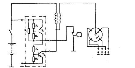 TA.C. with driver and power transistors.