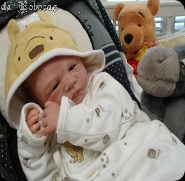 bebé de 620grs y 6 meses de gestación