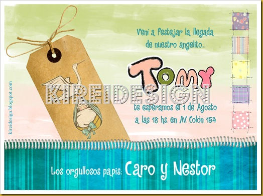 Invitaciones y frases para Baby Shower   KIREIDESIGN