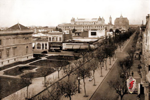 Las calles de la ciudad de La Plata a través de los años
