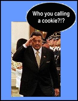 "President ""cookie"" Estrada"
