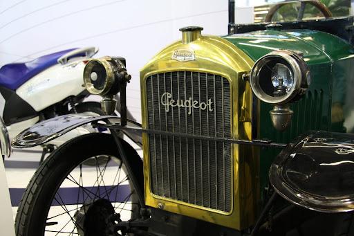 Peugeot Quadrilette, véhicule