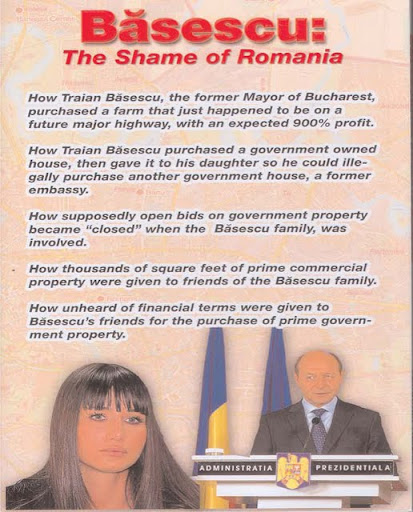 """Basescu - rusinea Romaniei"""