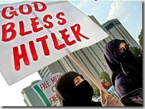 Islam says God bless Hitler