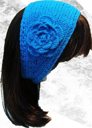 knitband 0 Örgü saç bandı modeli